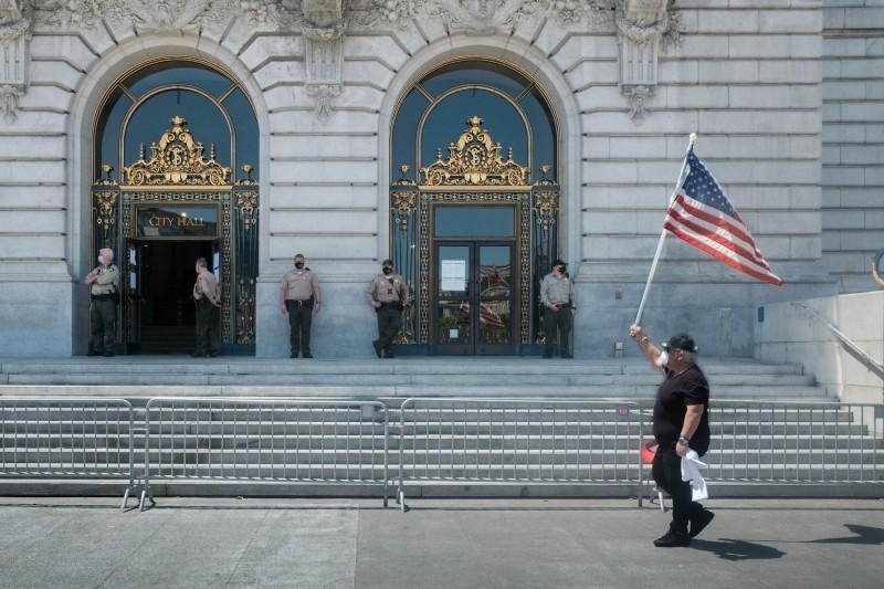 Ayuntamiento de San Francisco, mayo 2020