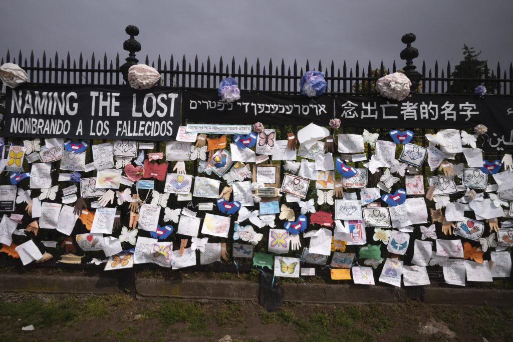 Memorial a los fallecidos por Covid-19, NY