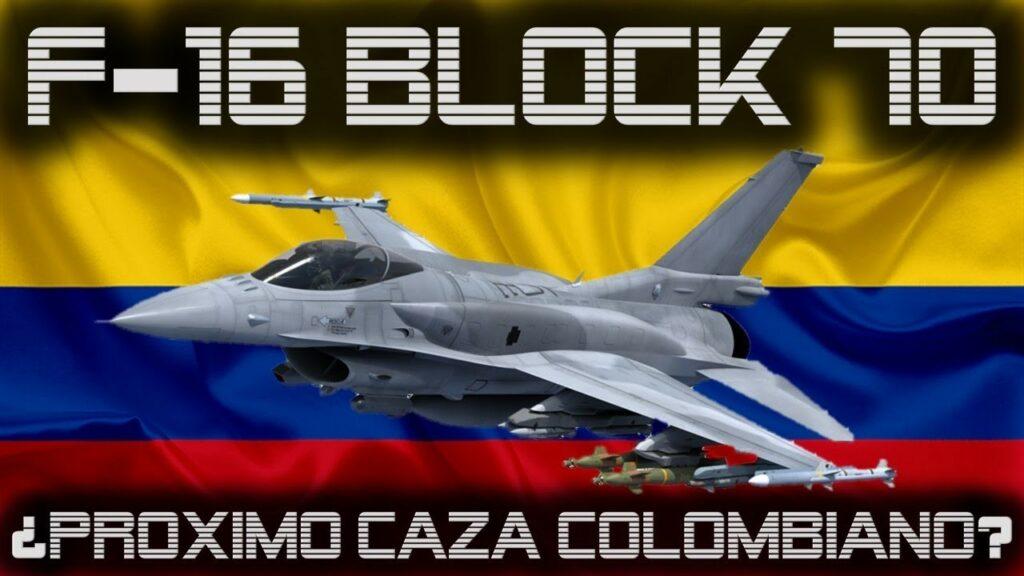 F-16 BLOCK 70 ¿A Punto de Convertirse en el Próximo Caza de Colombia? -  YouTube